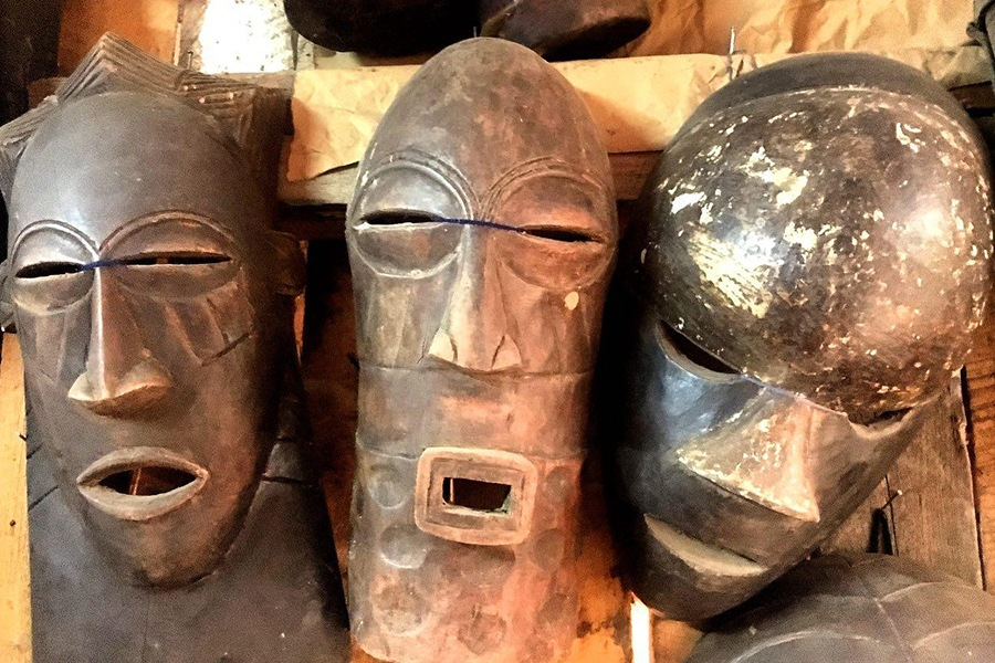 ماسک آفریقایی