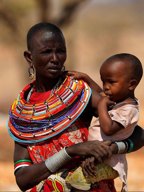 مادر آفریقایی